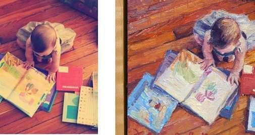 Custom Photo Paintings