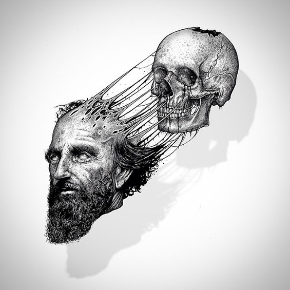 Skeleton-Exploding Illustrations