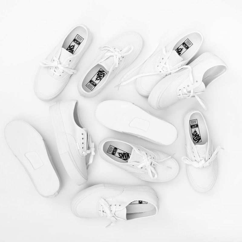 All-White Sneaker Collabs