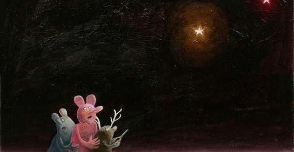 Haunting Nightmarish Paintings