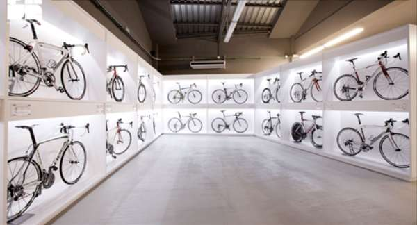 Museumlike Bike Shops