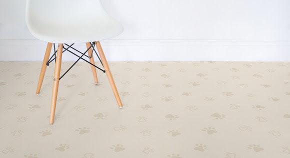 Playful Pet-Inspired Flooring