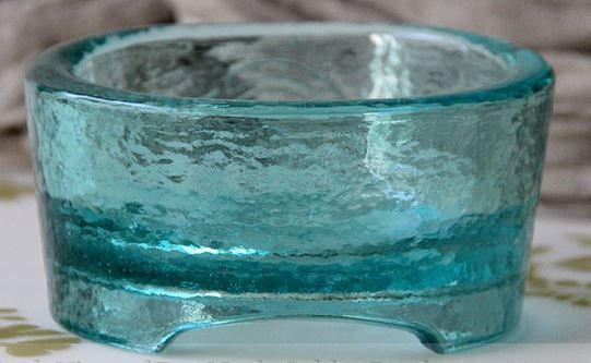 Recycled Glass Pooch Bowls