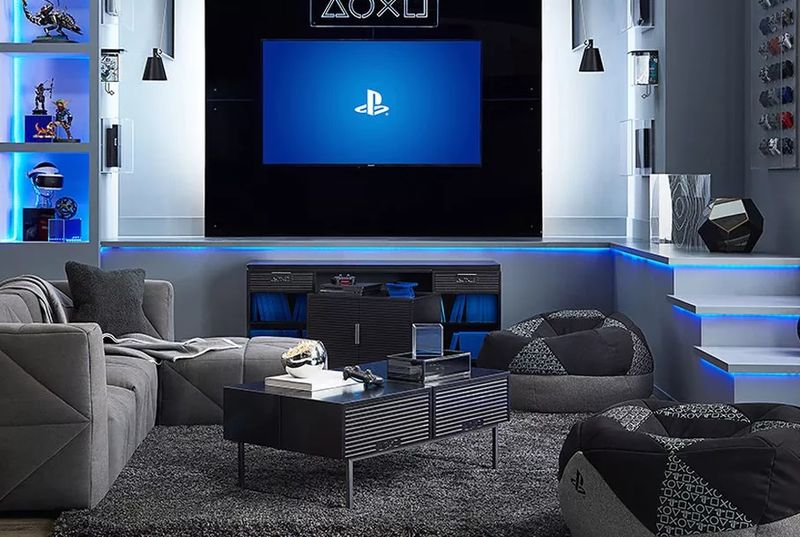 Game Console Inspired Furniture Pbteen Playstation