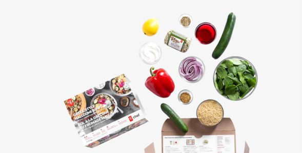 Grocer-Curated Meal Kits
