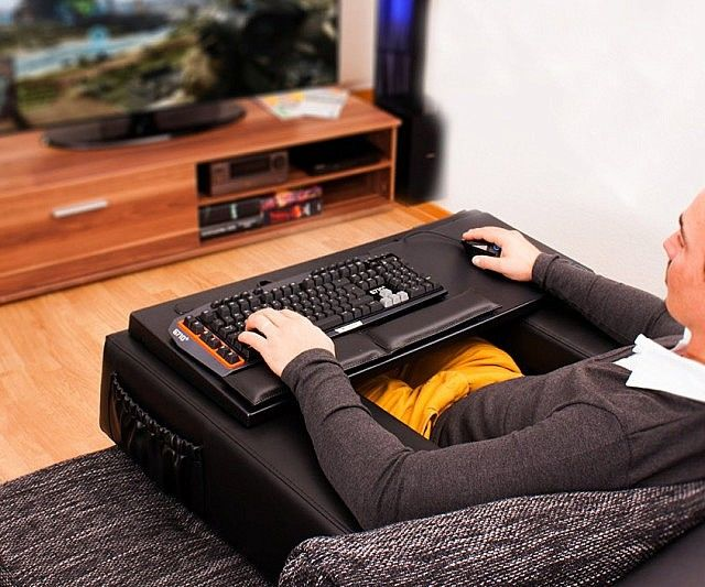 Couch Computer Peripheral Holders