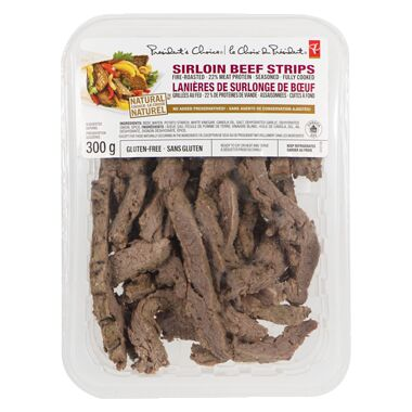 Refrigerated Sirloin Strips
