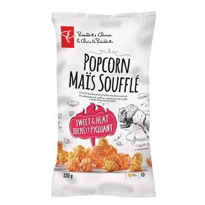 Spicy Caramel Corn Snacks
