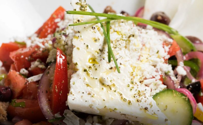 Authentically Produced Feta Cheese