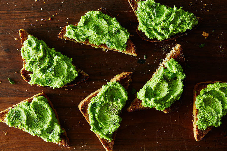 Mint-Infused Veggie Spreads