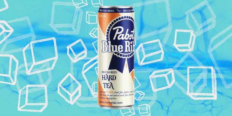 Peach-Flavored Hard Teas