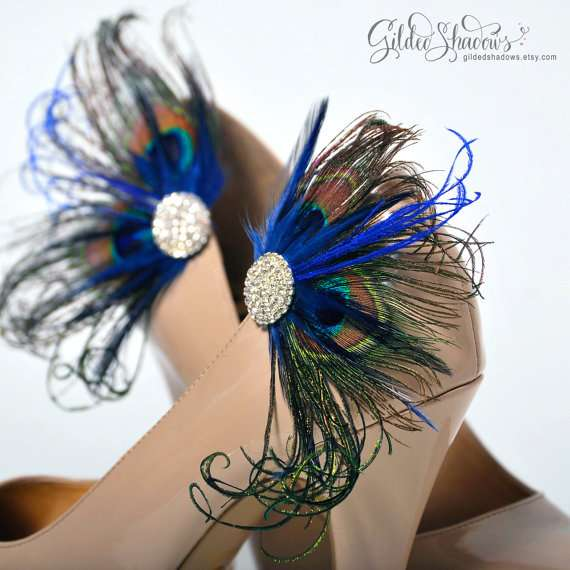 Jeweled Peacock Accessories