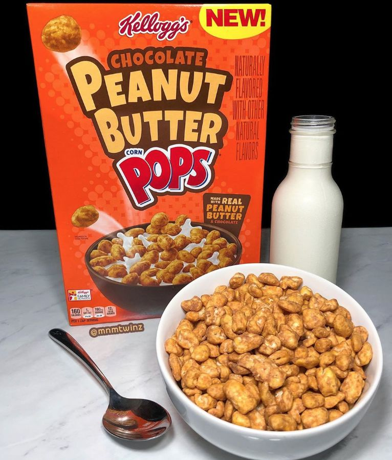 Resurrected Peanut Butter Cereals : Peanut Butter Corn Pops