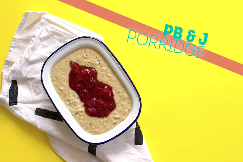Sandwich-Themed Porridge