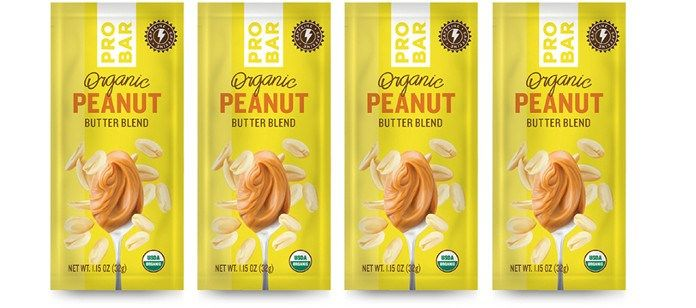 Caffeinated Peanut Butter Packs