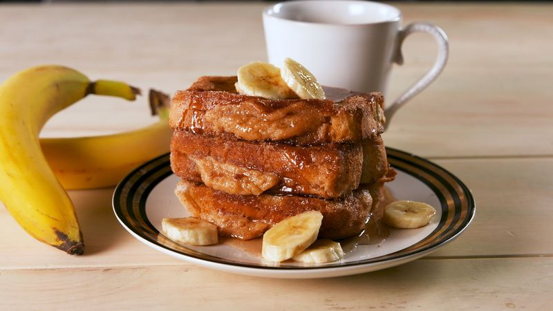 Peanut Butter-Stuffed French Toast
