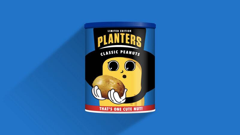 Newborn Mascot Peanut Tins