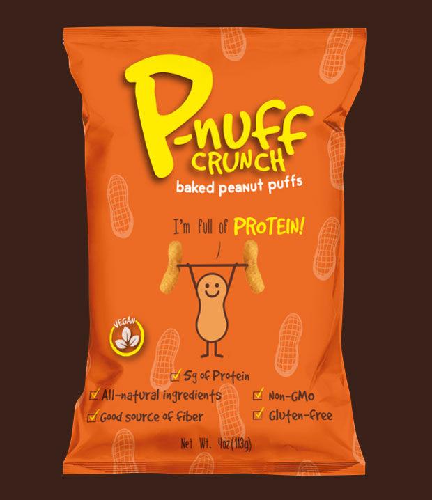 Protein-Rich Peanut Puffs