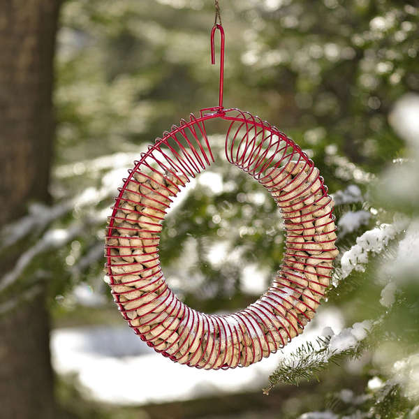 Coiled Wreath Feeders