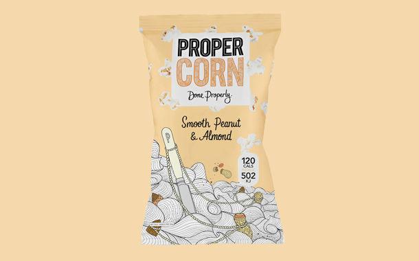 Nut-Based Popcorn Mixtures