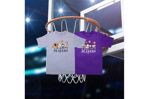 Basketball-Themed Graphic Streetwear