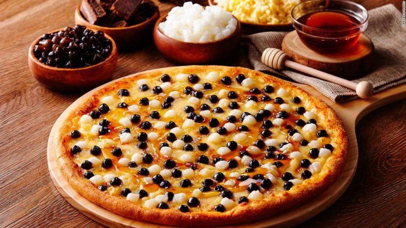 Boba-Topped Pizzas