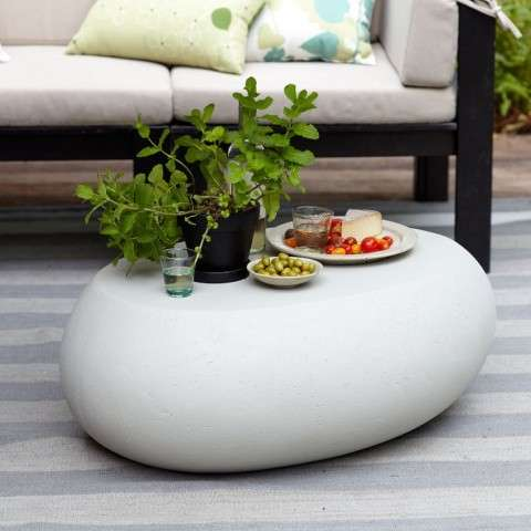 Spherically Smooth Patio Decor