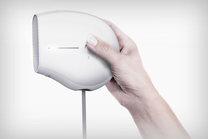 Curvaceously Compact Hair Dryers