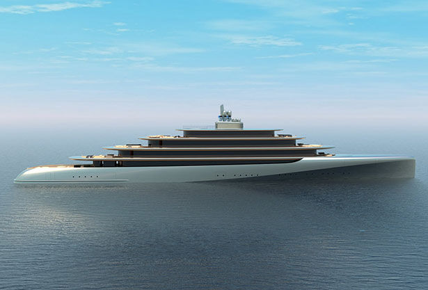 Curvaceous Nature-Inspired Yachts