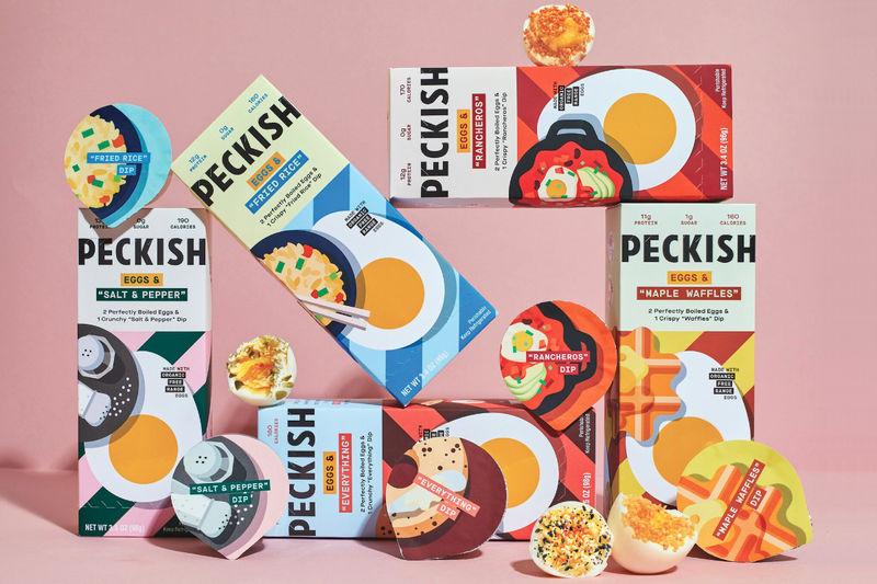 Egg-Centric Snack Brands