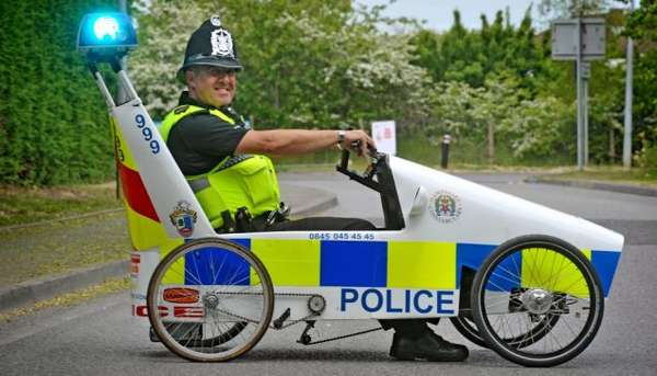 DIY Police Cars