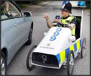 Pedal-Powered Police Cruisers