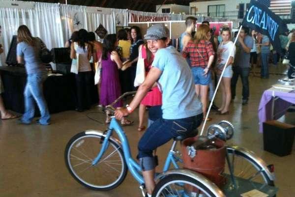 Bicycle-Powered Creameries