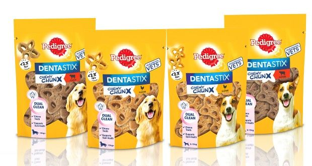 Dual-Cleaning Dog Chew Treats
