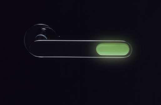 Lit-Up Locatable Doorknobs