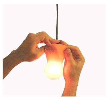 Peelable Lightbulb Lampshades