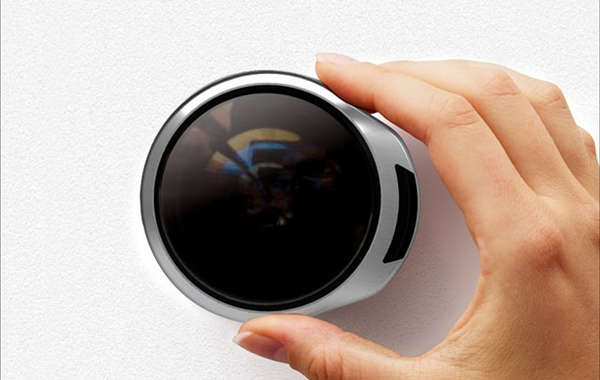 360-Degree Peepholes & 360-Degree Peepholes : PEEP Rotating Door Peephole