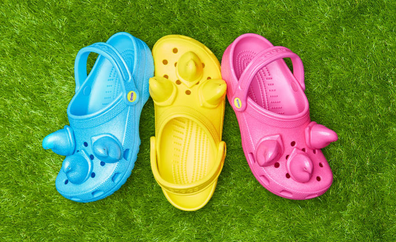 Collaboration Marshmallow Candy Clogs