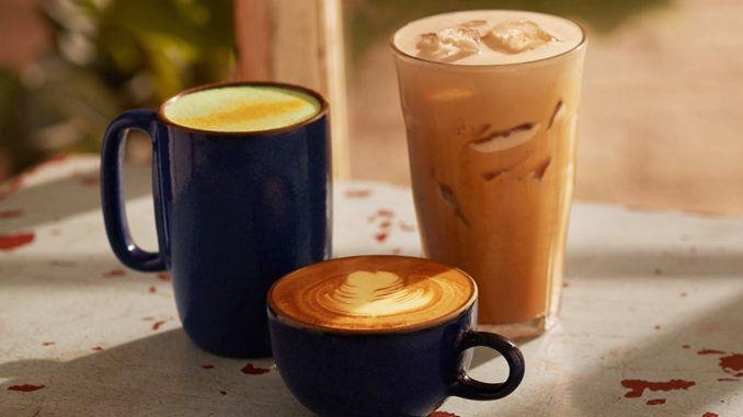 Golden Turmeric Coffee Drinks