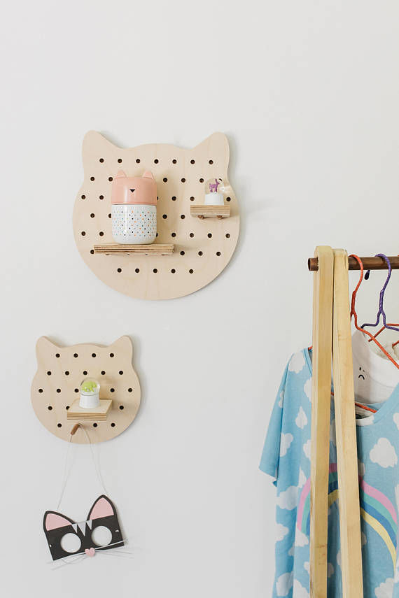 Playful Cat-Shaped Storage