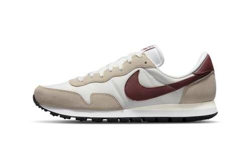 Earthy Tonal Retro Running Shoes