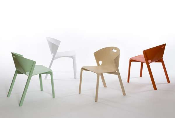 Shapely Stackable Seating