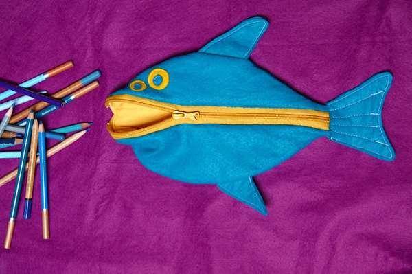 Fishy Stationery Sacks