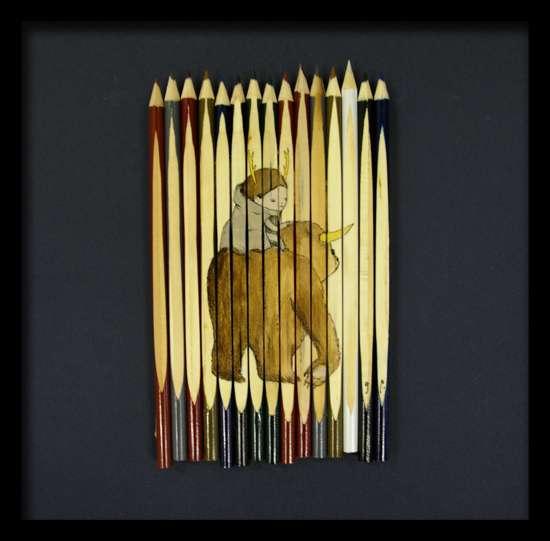 Pencils as Canvas