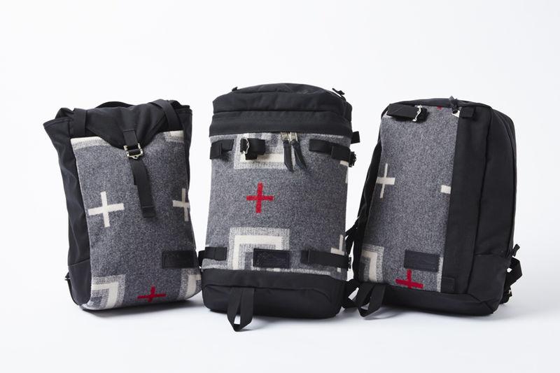Textile-Inspired Knapsacks