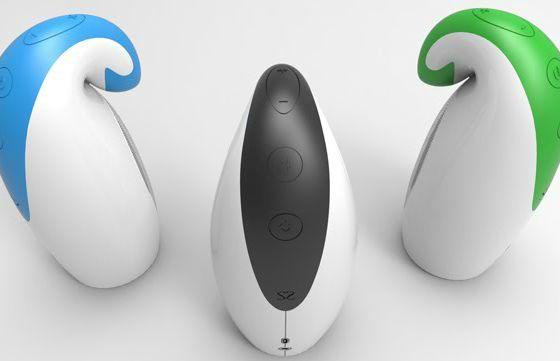 Portable Penguin Speakers