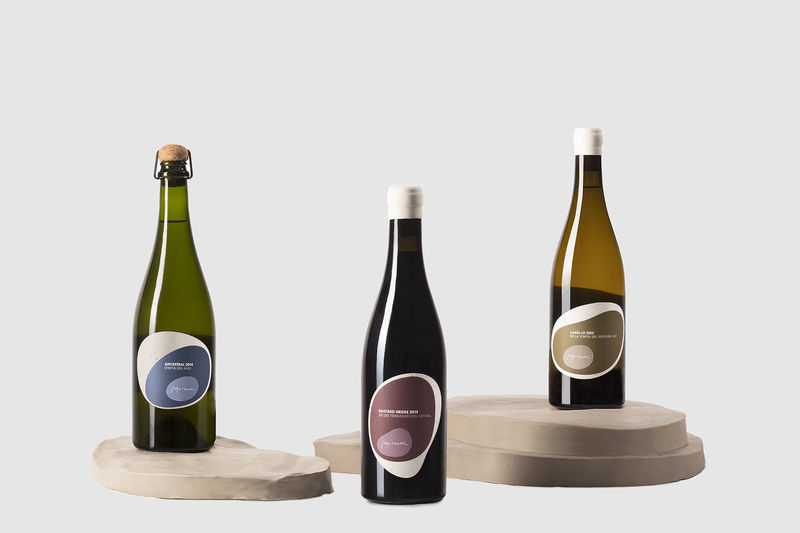 Geological Wine Labels