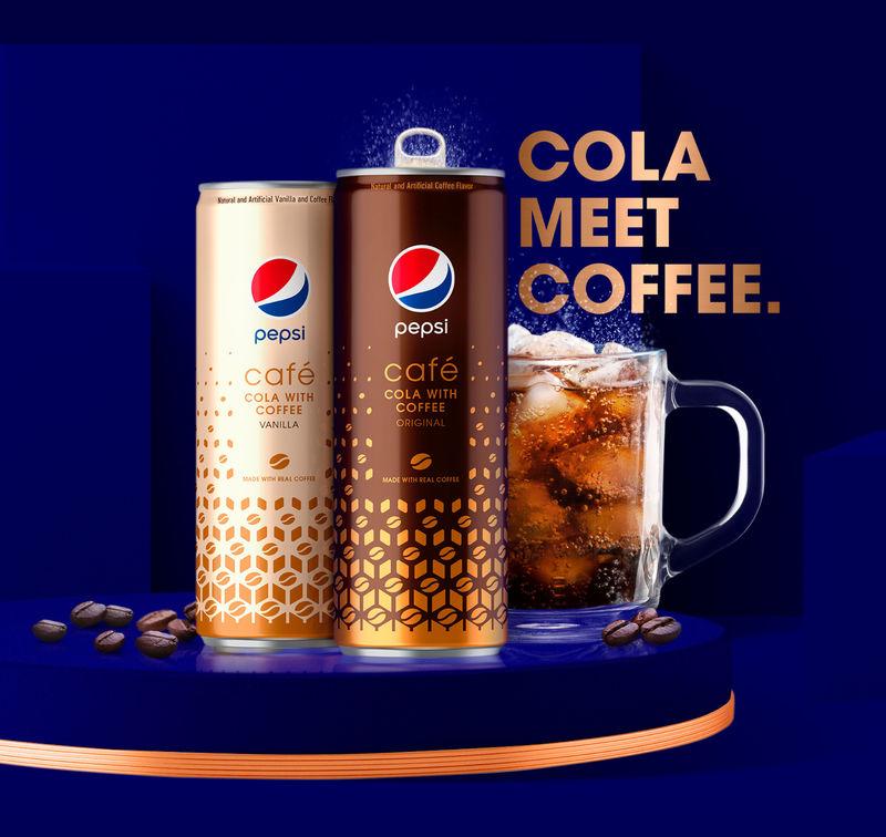 Coffee-Infused Cola Beverages