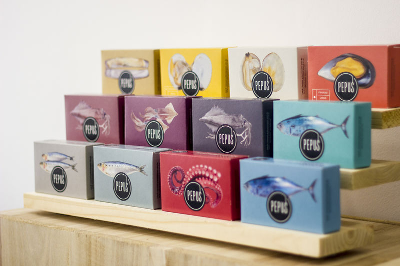 Quirky Packaged Fish Products
