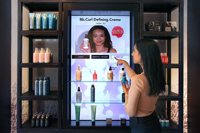 Connected Hair Product Displays Perch Bumble Amp Bumble